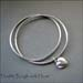 BA - Double Bangle with Heart