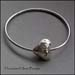 BA - Hammered Heart Bangle
