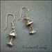 E - Toadstool Earrings