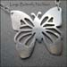 N - Large Butterfly Necklace
