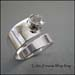 R - Cubic Zirconia Wrap Ring