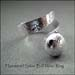R - Hammered Silver Ball Wrap Ring