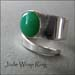 R - Jade Wrap Ring