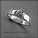 R - Narrow Band CZ Ring